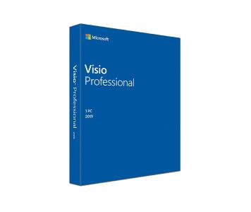 Visio 專業版 2019 (電子下載版)