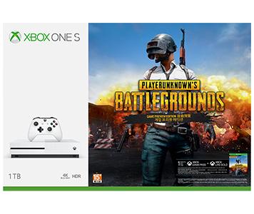 Xbox One S《PLAYERUNKNOWN'S BATTLEGROUNDS》1TB 主機套裝