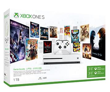 Xbox One S 1TB 連3個月金會員及3個月 Xbox Game Pass 主機套裝