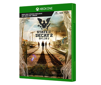 《State of Decay 2》(光碟版)