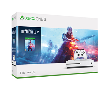 《Battlefield V》Xbox One S 1TB 主機套裝