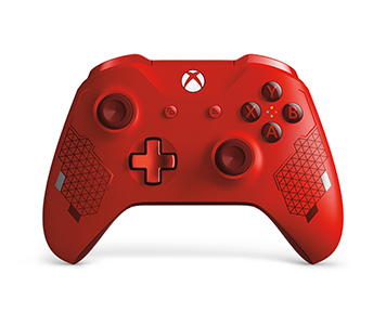 Xbox Wireless Controller – Sports Red