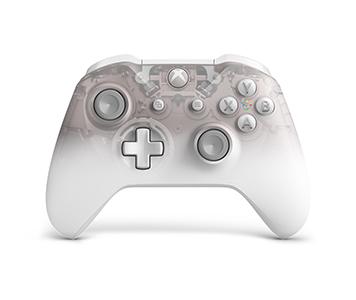 Xbox One 無線手掣 - Phantom 透明白特別版