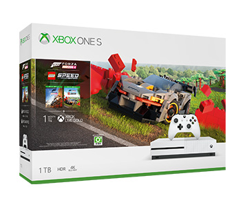 《Forza Horizon 4 LEGO Speed Champions》Xbox One S 1TB 主機套裝