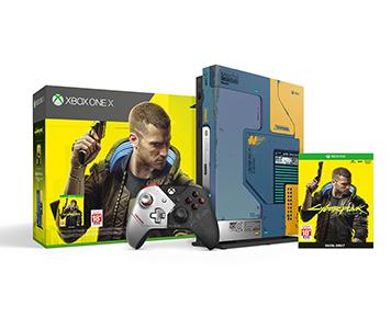 《Cyberpunk 2077》Xbox One X 1TB 主機套裝 (限量版)