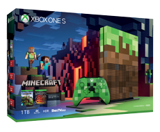 Xbox One S《Minecraft》Limited Edition 1TB Bundle