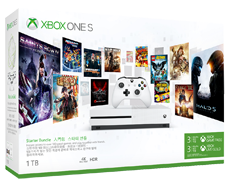 Xbox One S 1TB 3-month Game Pass and 3-month Xbox Live gold bundle