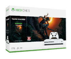 《Shadow of the Tomb Raider》Xbox One S 1TB Console Bundle