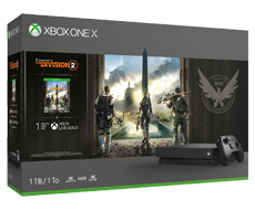 《The Division 2》Xbox One X 1TB 主機套裝